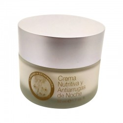 Facial cream nutritive and anti-wrinkles