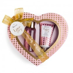 Small Heart Box 'Love Story' (Gel and Body Lotion)