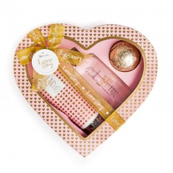 Large 'Love Story' Case (Gel, Lotion and Bath Bomb)
