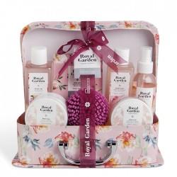 Floral Essences Bath Set Briefcase