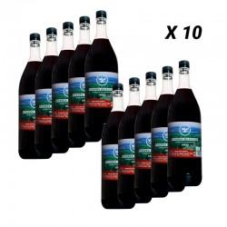 10 bouteilles de vin Pitarra Red Selection de 1,5 litre