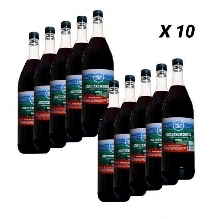 10 Botellas Vino Pitarra Selección Tinto de 1,5 Litros