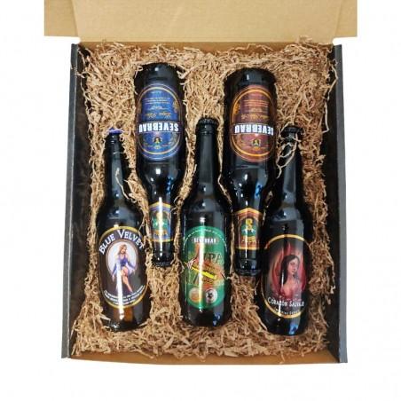 Lote 5 cervezas artesanas Cerex