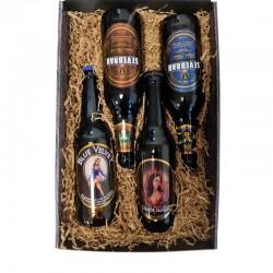 Pack cervezas artesanas Sevebrau