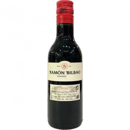 Miniatura de vino Ramón Bilbao Crianza 18.7 cl