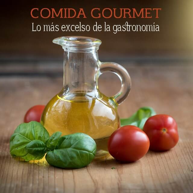 Comidas gourmet