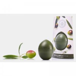 Brillo de labios la chinata con esencias de oliva
