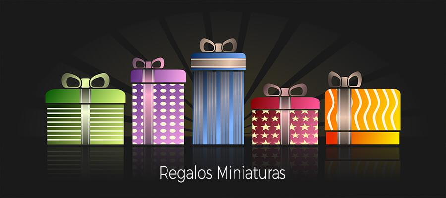 regalos miniaturas