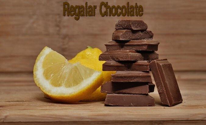 regalar chocolate