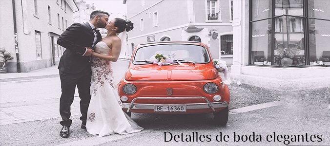 detalles de boda elegantes