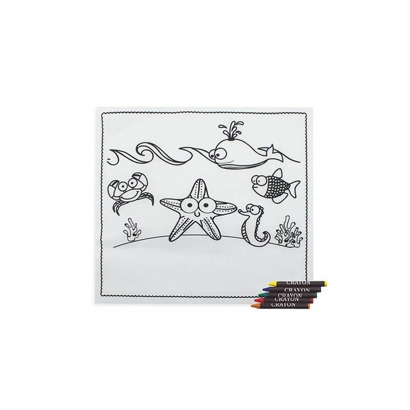 mantel para dibujo niños