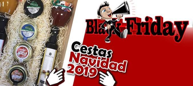 Cestas Black Friday navidad