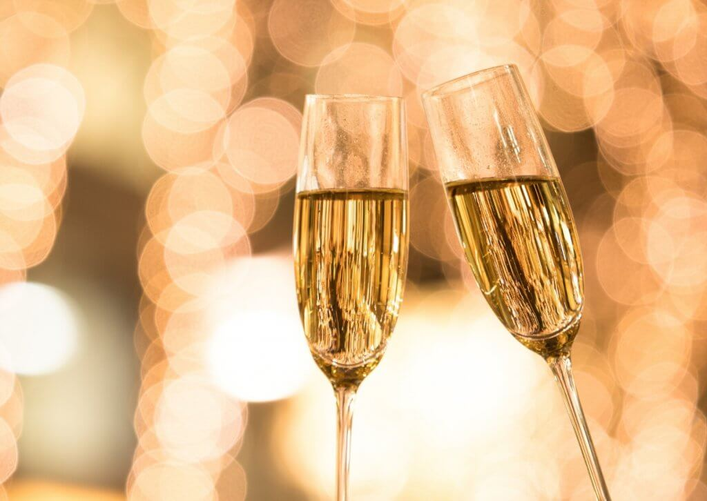 Brindis de Año Nuevo, bebidas para brindar en 2021