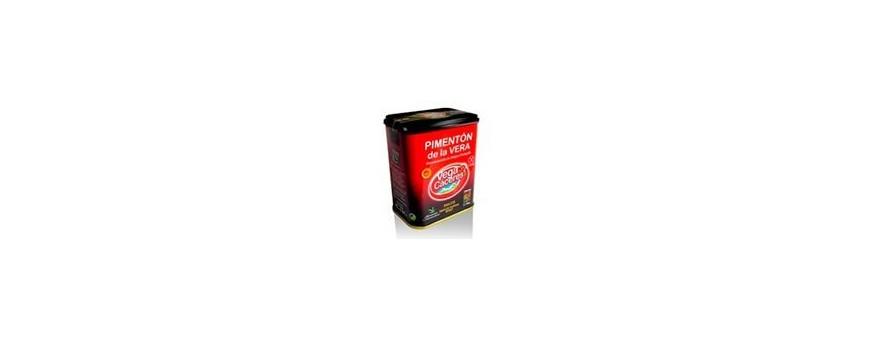 Comprar pimentón de la Vera dulce,tienda productos gourmet
