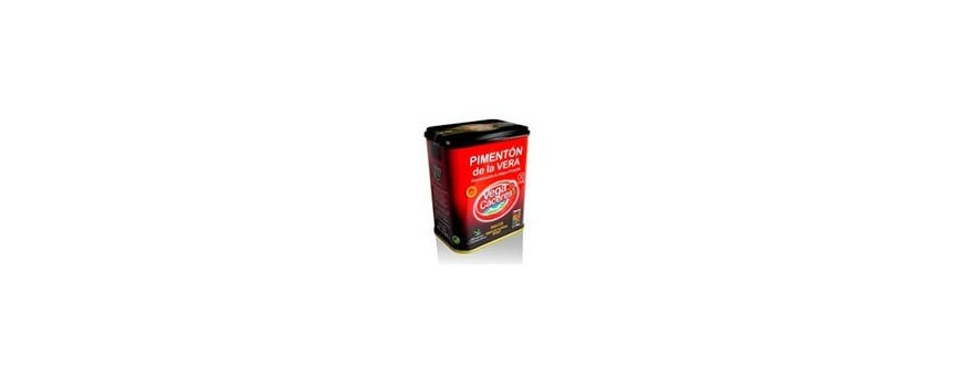 Acheter paprika de la Vera aigre-doux D.O.P aigre-doux