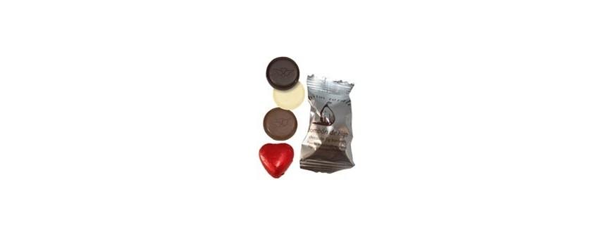 Bonbons de chocolat pour mariages