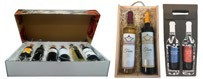 Gift boxes with wine