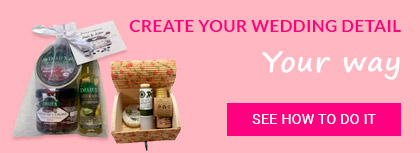 CREATE YOUR WEDDING DETAIL
