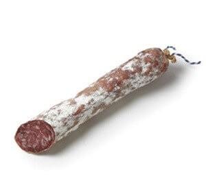 Cular white sausage