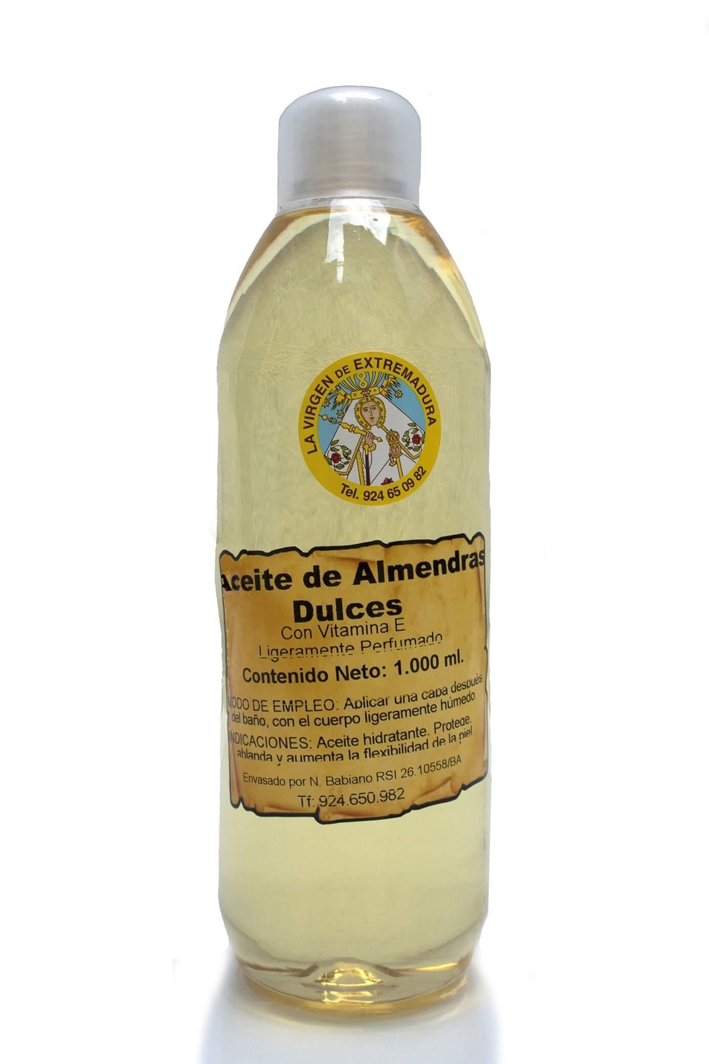 Aceite de almendras Dulces (1 litro)