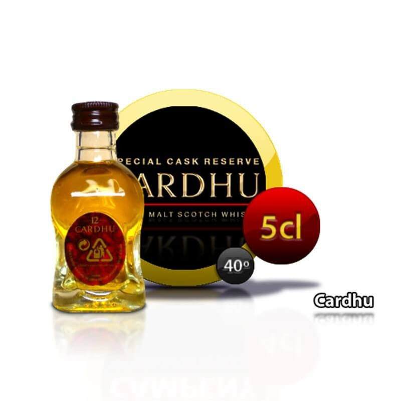 Bottle miniature whisky Cardhu