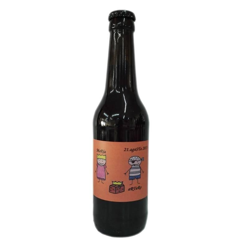 Bière Weizen cadeau personnalisé