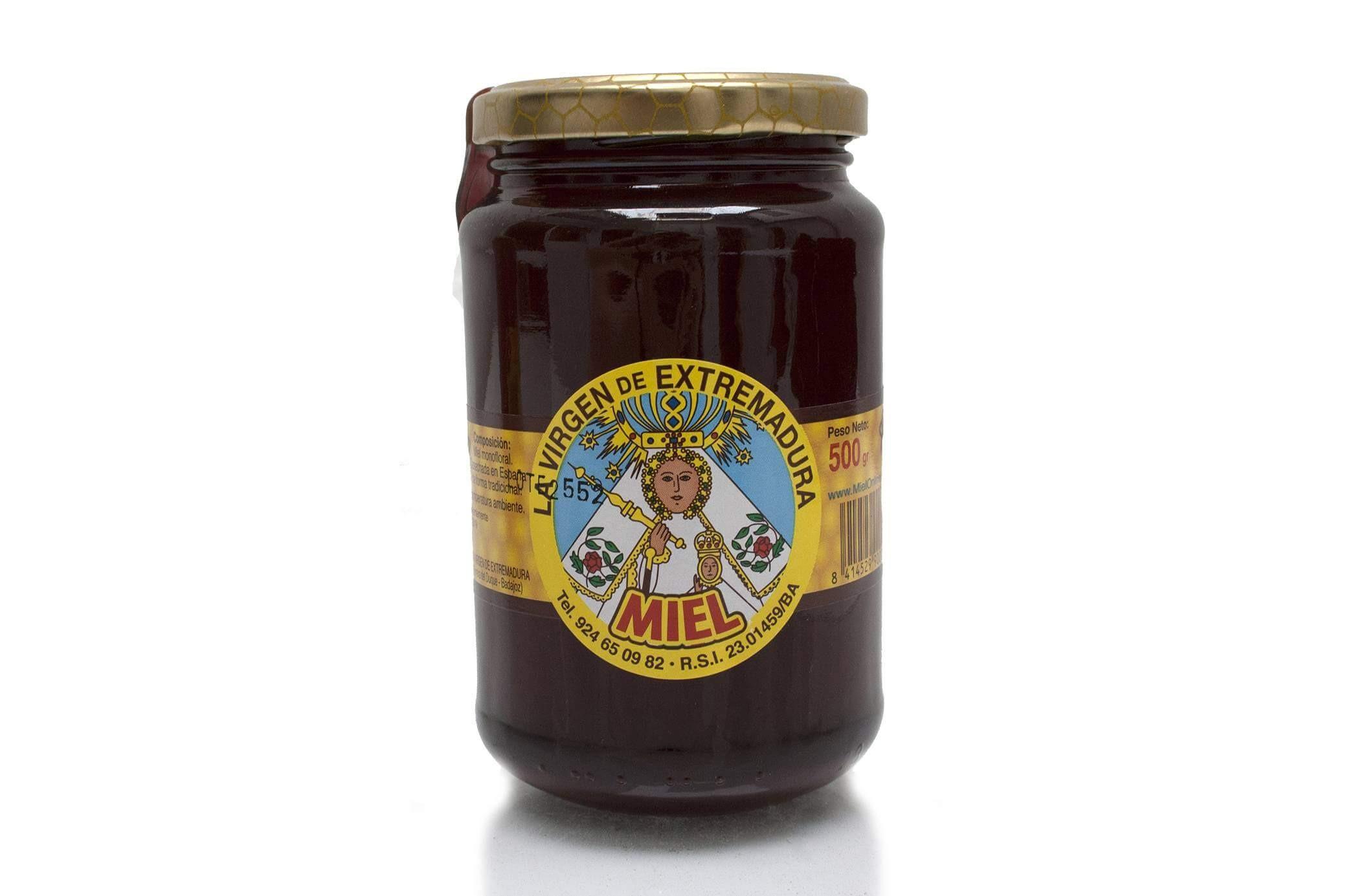 Miel de Encina natural 500 grs.