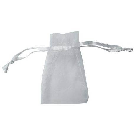 9 x 12 white organza bag