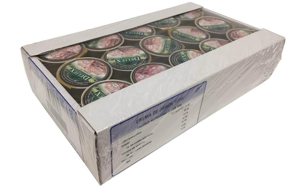 Crema de Jamón York (25g x 45uds)