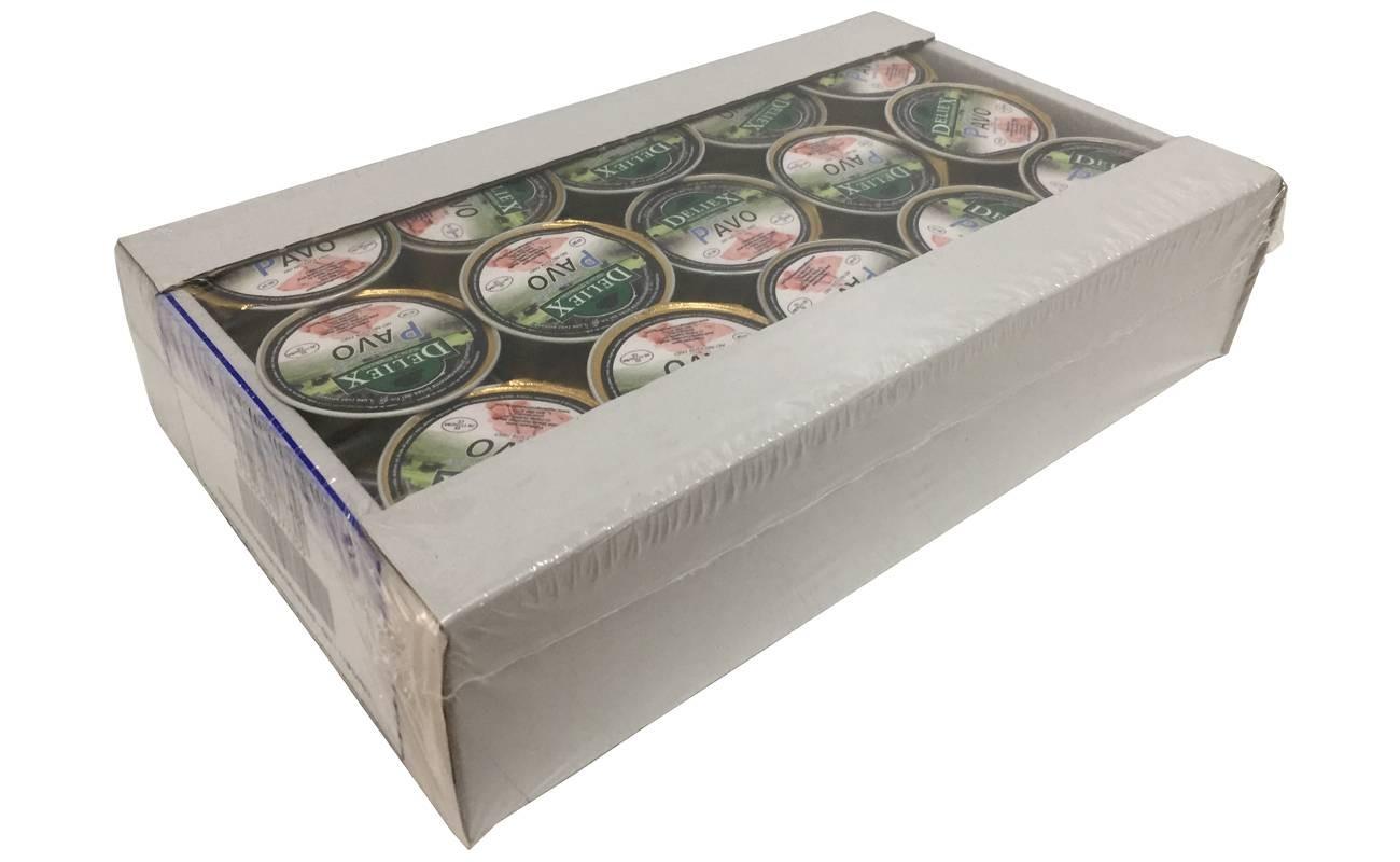 Crema de Pavo Deliex (25 gr x 45)
