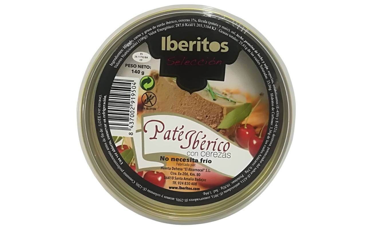 Iberian pate with cherry