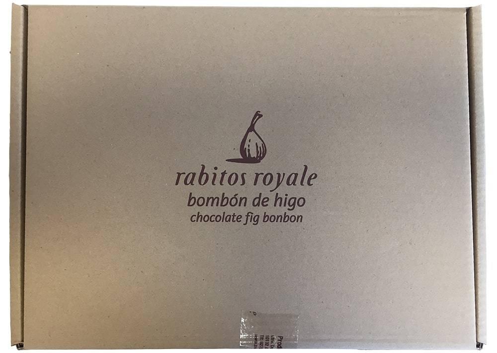 Large box 4 kg fig chocolates Rabitos Royale bulk
