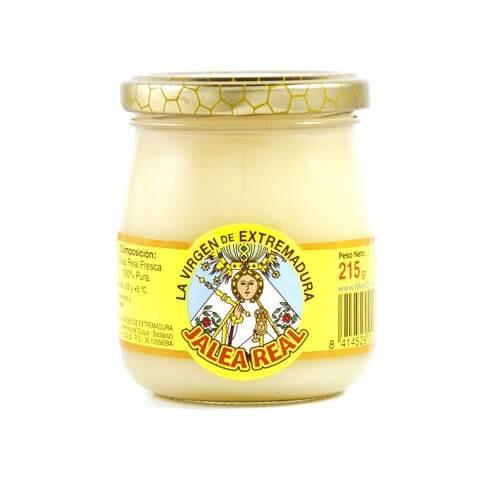 Jalea real natural y fresca tarro 215 gr