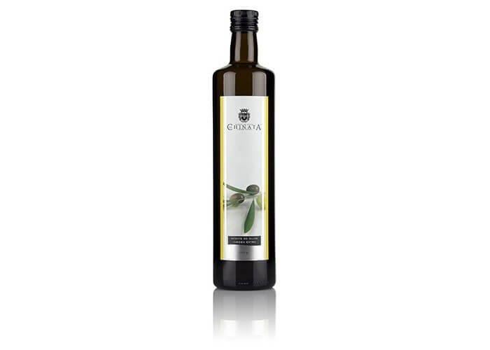 "Crystal bottle of extra virgin olive oil ""La Chinata"" (500 ml)"