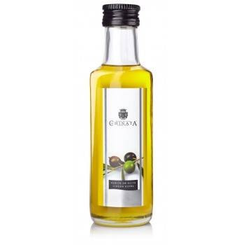 Glass bottle extra virgin olive oil (100 ml)
