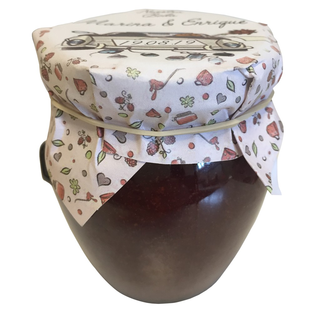 Strawberry Jam with Design Cover 120g