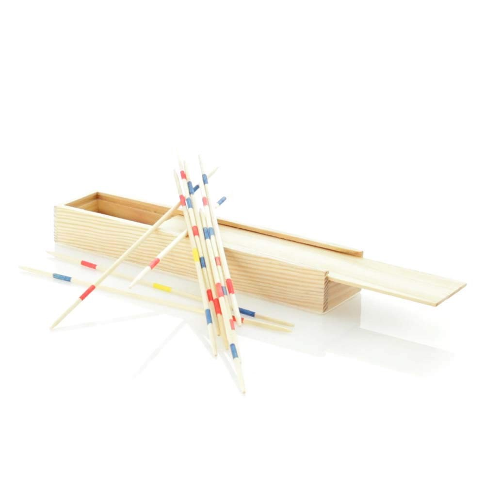 Mikado, board game with chopsticks for children