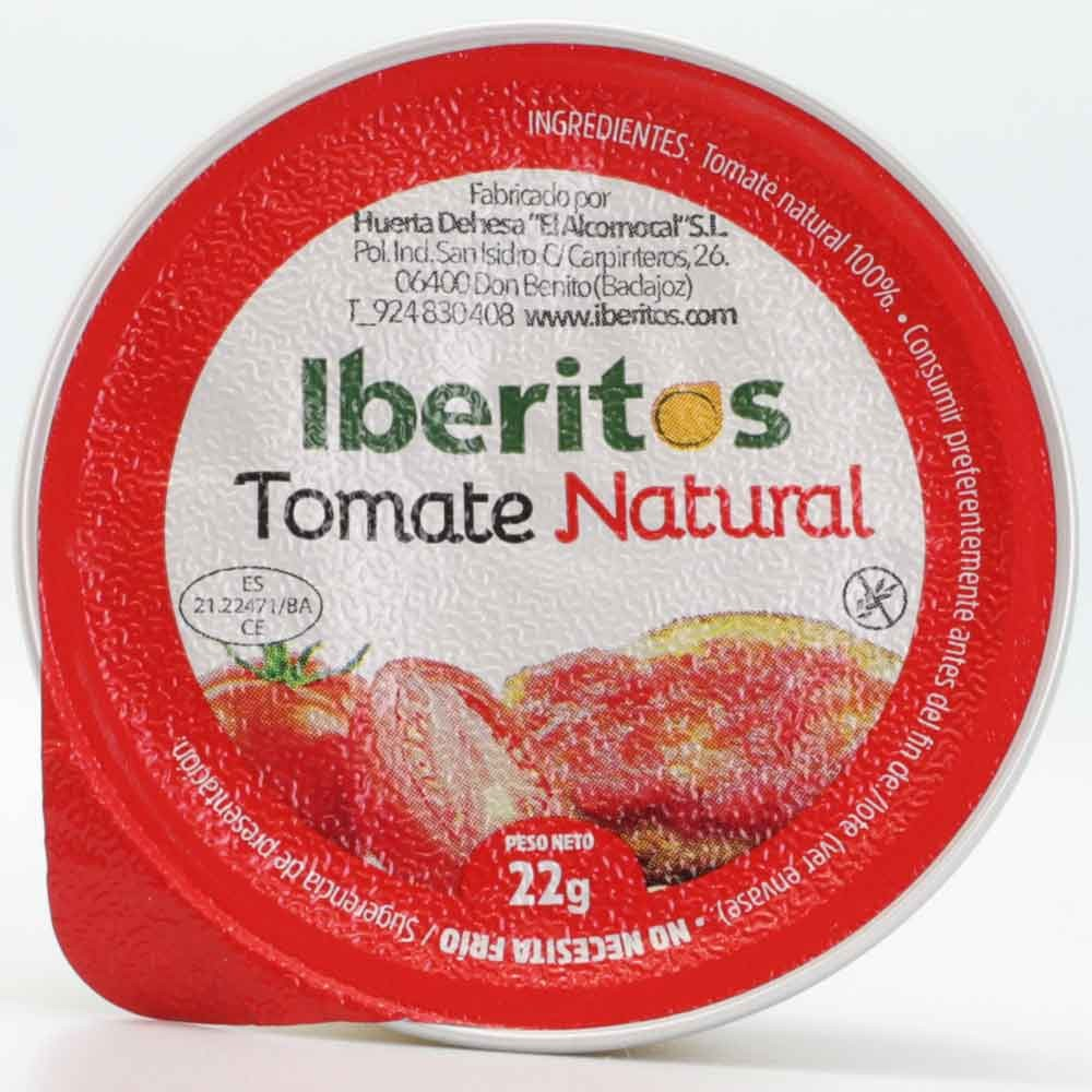 Grated natural tomato 22gr single dose