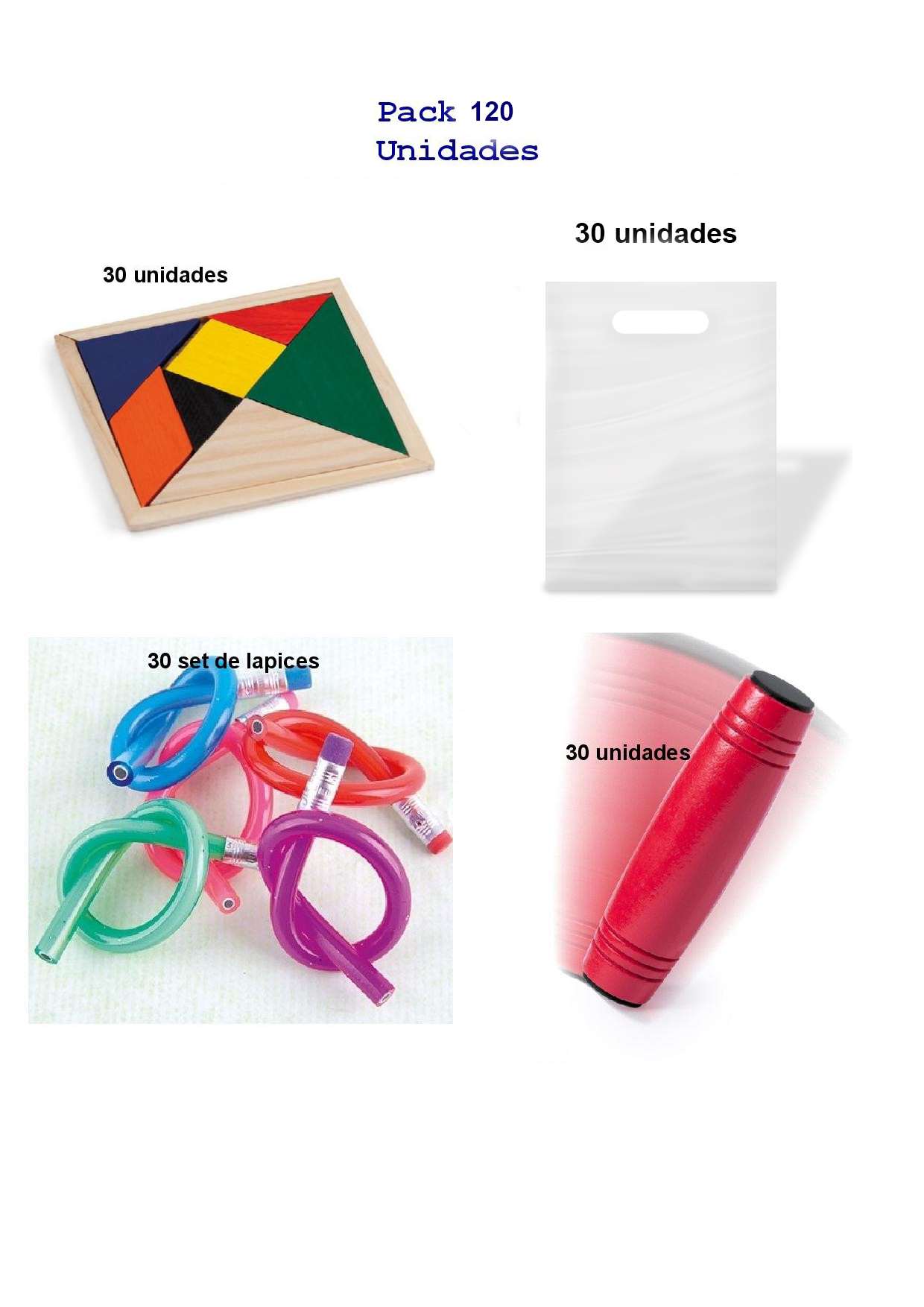 Great pack for children's gifts 30 rondux games + 30 set flexible pencils + 30 puzzles wit