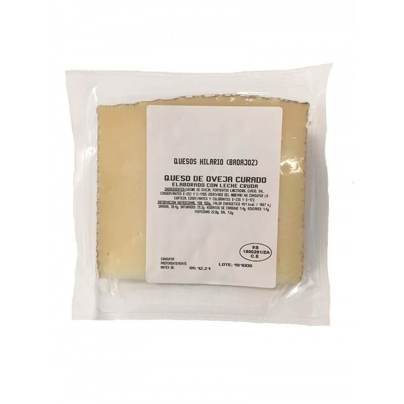 Wedge of sheep cheese cured (250g)