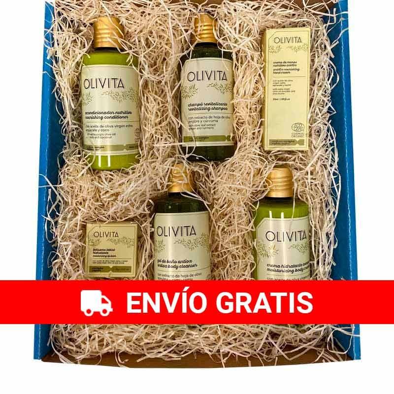 Organic Olivita cosmetic gift box