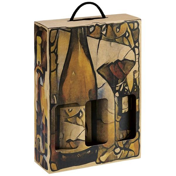 Panier de Cadeau (3 bouteilles de vin)
