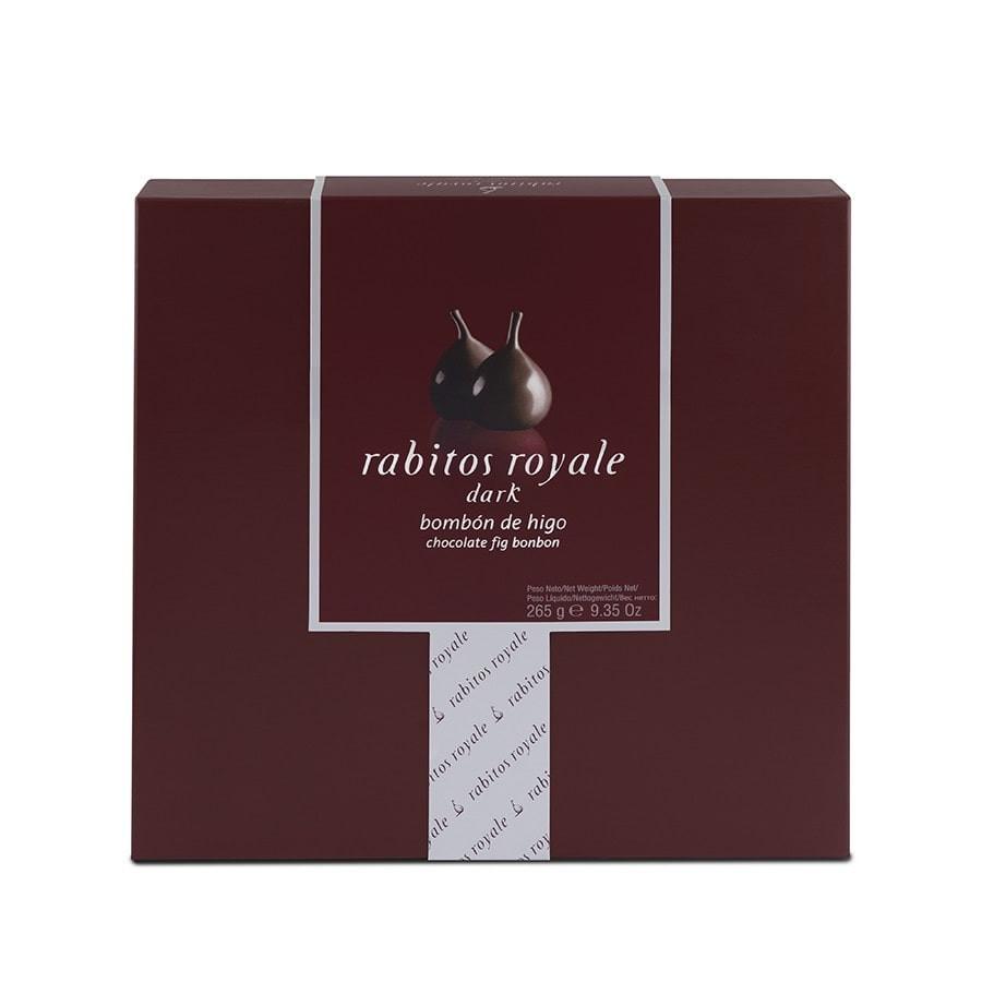 Rabitos Royale bombones de higo y chocolate 15 unidades