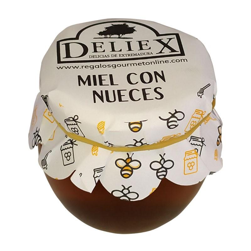 Tarro de Miel con Nueces 115 gr para detalles