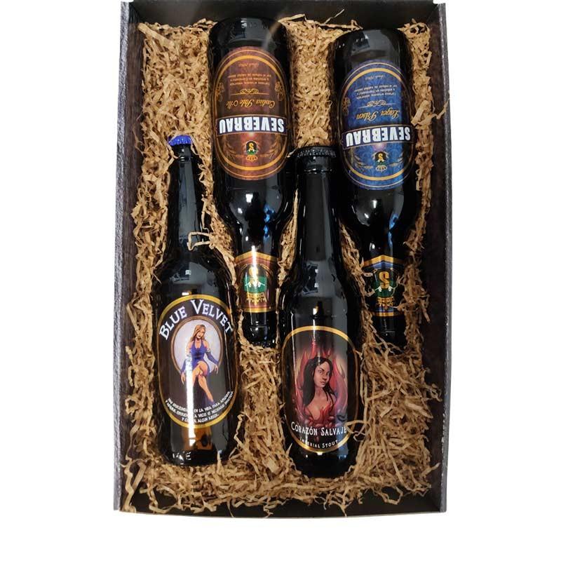 Pack cervezas artesanas Cerex